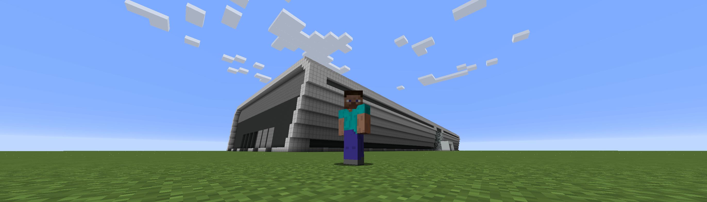 Minecraftで石狩データセンターを建築